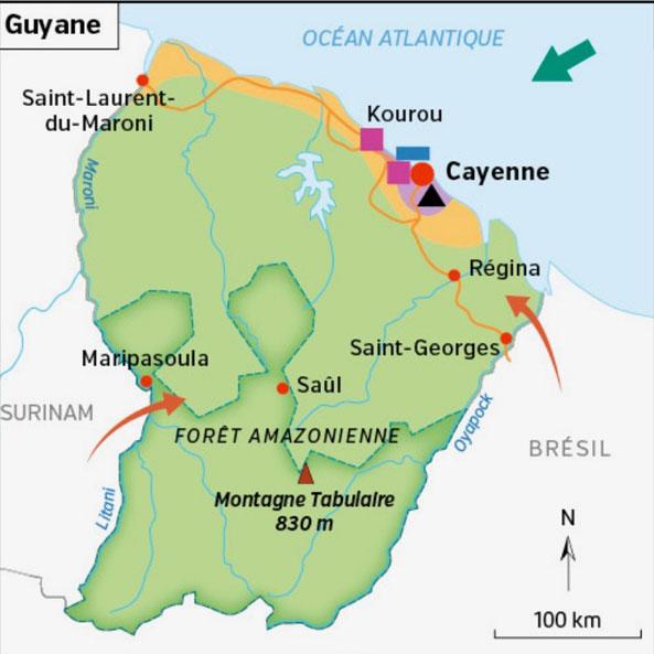 Déménagement Guyane